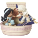 Precious Moments 192012 Disney Aladdin and Jasmine Figurine LE
