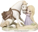 Precious Moments 192013 Disney Tangled Rapunzel and Maximus Figurine