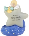 Precious Moments 192436 Baby on Star Gender Reveal LED Figurine