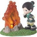 Precious Moments 192451 Disney Mulan and Mushu LED Figurine