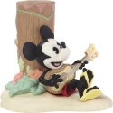 Precious Moments 192702 Disney Mickey Mouse Playing Ukulele Figurine