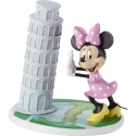 Precious Moments 192703 Disney Minnie Tower of Pisa Figurine