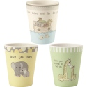 Precious Moments 193433 Cups 3asst Set of 3