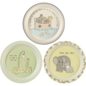 Precious Moments 193435 Plates 3asst Set of 3