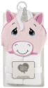 Precious Moments 199804 White/Pink Unicorn Hooded Towel