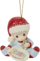 Precious Moments 201006 Dated 2020 Baby Boy Ornament