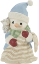 Precious Moments 201017 Annual Snowman With Owl Figurine