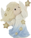 Precious Moments 201019 Annual Angel Scattering Stars Figurine