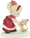 Precious Moments 201026 Girl Dancing With Puppy Figurine