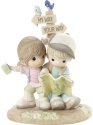 Precious Moments 201031 Couple Lost With Map Figurine