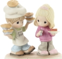 Precious Moments 201032 Couple With Pies Figurine