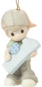 Precious Moments 201036 Number One Boy Ornament