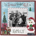 Precious Moments 201408 The Season's Greatest Gift Is Family Photo Frame