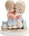 Precious Moments 202003 Couple Reading Book Together Figurine