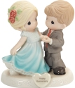 Precious Moments 202005 Couple Dressed For Anniversary Celebration Figurine