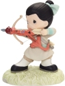 Precious Moments 202032 Disney Mulan With Bow And Arrow Figurine