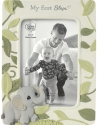 Precious Moments 202405 Precious Earth Baby's First Steps Photo Frame With Elephant