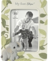 Precious Moments 202405I Precious Earth Baby's First Steps Photo Frame With Elephant