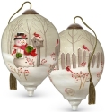 Precious Moments 7191118 Holiday Greetings Ornament
