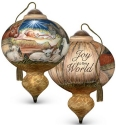Precious Moments 7191124 Joy To The World Ornament
