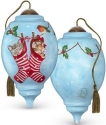 Precious Moments 7191149 Kittens In Stockings Ornament