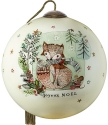 Precious Moments 7201111D Stylized Fox With Trees And Snowflakes Ornament