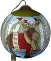 Precious Moments 7201113 Cardinals On Moose Antlers Ornament