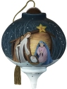 Precious Moments 7201135D Stylized Nativity Ornament