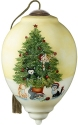 Precious Moments 7201146D Cats In Christmas Tree Ornament