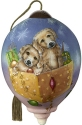 Precious Moments 7201148D Puppies In Gift Box Ornament