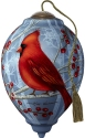 Precious Moments 7201158 Cardinal With Berries Ornament