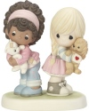 Precious Moments CC199002 2019 Collector's Club MOF Girls with Dog and Cat Figurine