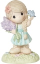 Precious Moments CC209001 2020 Collector's Club IG Kit Girl with Flowers Figurine