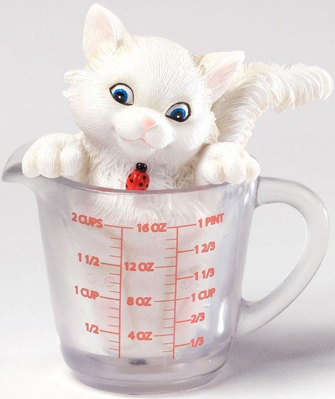 Charming Purrsonalities 4027979 You're a True Measure of a Friend Figurine