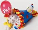Charming Purrsonalities 4022699 You're a Real Party Animal Figurine