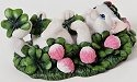 Charming Purrsonalities 4025968 May Tomorrow Find You Rolling in Clover Cat Figurine