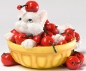 Charming Purrsonalities 4027978 Life's A Bowl Full of Cherries With You Figurine