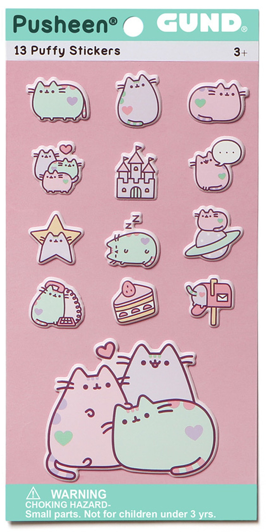 Pusheen by Our Name Is Mud 4060082 Pusheen Stickers Pastel