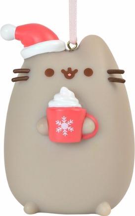 Pusheen by Department 56 4060366 Meowy Christmas Ornament Pvc