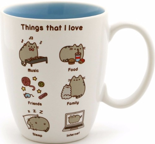 Pusheen by Our Name Is Mud 6000277 Mug Things I Love