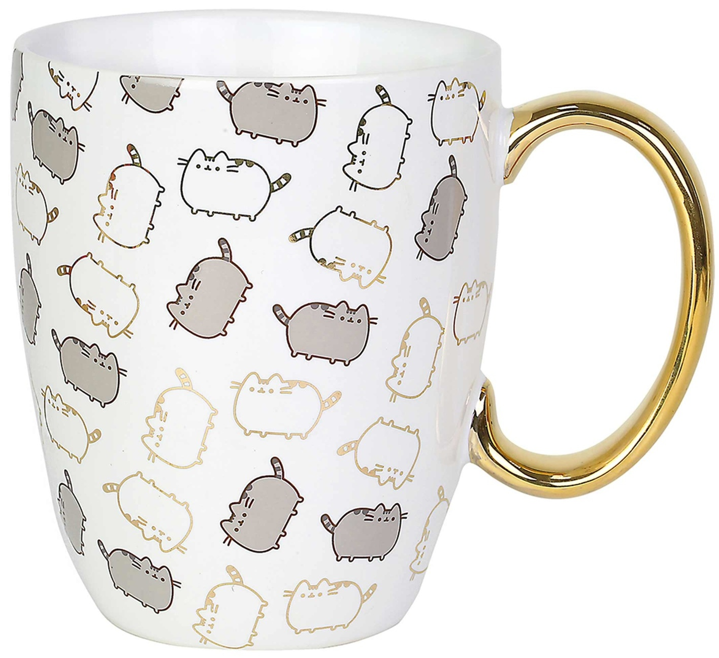 Pusheen by Our Name Is Mud 6004622 Gold Pattern Mug