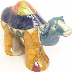 Raku South Africa C12 Camel Small