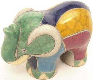 Raku South Africa E2 Elephant Large