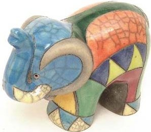 Raku South Africa E3 Elephant Extra Large