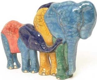 Raku South Africa E30 Elephants Flat