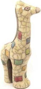 Raku South Africa M71 Giraffe Mini Gazing Colours