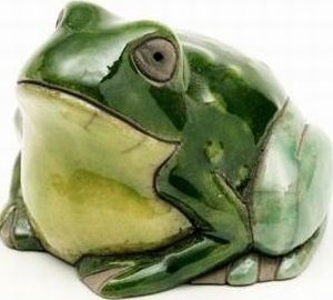 Raku South Africa M86 Frog Mini Green