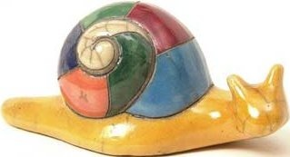 Raku South Africa S42 Snail Small