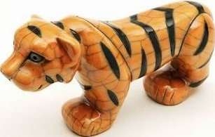 Raku South Africa T12 Tiger Medium Yellow & Black