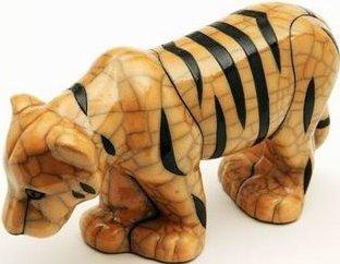 Raku South Africa T18 Tiger Large Yellow & Black